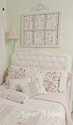 Shabby chic bedroom Kelly Meldau would a - myshabbychicdecor...