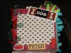 Dog Paper Bag Album Dog Lovers album by CraftsbyLittleBeth.