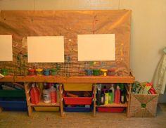 Escola Congrés-Indians, escuela infantil, educación, Barcelona, ambientes Reggio Classroom, New Classroom, Classroom Setting, Classroom Design, Preschool Classroom, Reggio Emilia, School Art Projects, Art School, Kindergarten Drawing