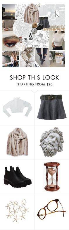 """""""♡ I'LL WAIT A LIFETIME"""" by thundxrstorms ❤ liked on Polyvore featuring Chicnova Fashion, Romanelli, Hourglass Cosmetics and Madewell"""