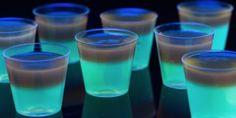 Glowing Jell-O Shots