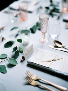 UrbanLoftInspiration©peachesandmint_small__18 - Wedding Sparrow | Best Wedding Blog | Wedding Ideas Wedding Table, Wedding Blog, Dream Wedding, Wedding Dreams, Blue Gold, Food Styling, Wedding Flowers, Wedding Inspiration, 18th