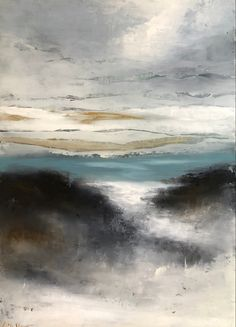 "Oil and cold wax original, 18"" x 22"" by Lori Dre Great Friends, Main Street, New Art, Wax, Coast, Florida, Tours, Gallery, Artist"