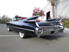 1959 CADILLAC SERIES 62 CONVERTIBLE - Barrett-Jackson Auction Company - World's Greatest Collector Car Auctions $84,700