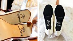 Noivas apostam em adesivos para sola de sapato!! #wedding #shoes #sapatos #noivas #bride #highheels #salto #casamento