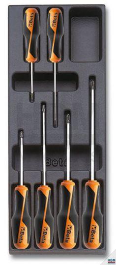 BETA T202 - 6 Delige gereedschap inlay   HBM Machines