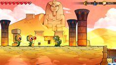 Wonder Boy: The Dragon's Trap works with original Master System passwords