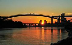 Sunrise in Han -River Seoul, Korea