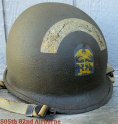 WWII M-1 Helmet ESB (Engineer Special Brigade) D-day