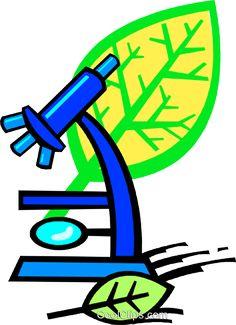 Mikroskop Vektor Clipart Bild vc018782