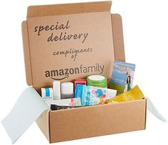 Maternity Sample Box, compliments of Amazon Family