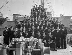 HMCS Camrose, St. John's, Newfoundland, 18 July 1942.