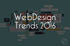 Here are the top 6 most prominent Web Design trends of 2016 http://www.brownboxbranding.com/the-most-prominent-web-design-trends-for-2016/