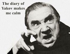 """Il diario di Yakov a volte fa """" Buhhh !! """""""