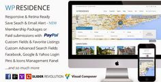 WP Residence Real Estate WordPress Theme Free Download