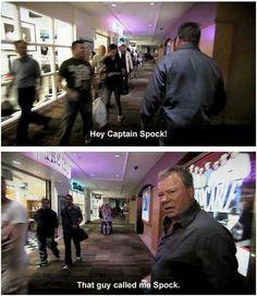 """""""Captain Spock"""" #williamshatner #captainkirk #startrek"""