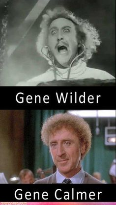 Different types of Gene Wilders