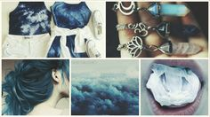 #blue #outfit #hair #color #jewel #sky #lips #dark