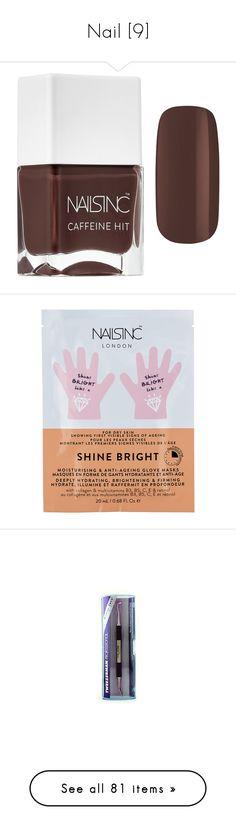 """Nail [9]"" by gdavilla ❤ liked on Polyvore featuring beauty products, nail care, nail polish, shiny nail polish, manicure tools, tweezerman, manicure pedicure kit, ciaté, manicure and pedicure kit and glossy nail polish"