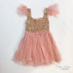 Pink Flutter Dress f
