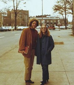 """""""BE HIPPY... ;) """" Bill and Hillary Clinton. #45. Hillary Rodham Clinton for President 2016 Wife, mom, lawyer, women & kids advocate, FLOAR, FLOTUS, US Senator, SecState, author, dog owner, hair icon, pantsuit aficionado, glass ceiling cracker, TBD"""