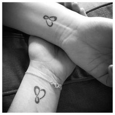 infinity tattoo mother daughter - Google Search
