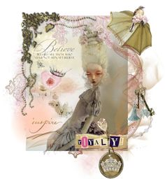 inspire by eos531 featuring laura ashley