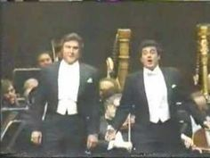 """Pearl Fishers"" duet, Bizet, Sherrill Milnes and Placido Domingo, James Levine, cond. 1983"