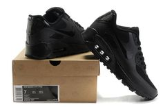 Nike Air Max 90 Hyperfuse All black via MFancy Boutique. Click on the image to see more!