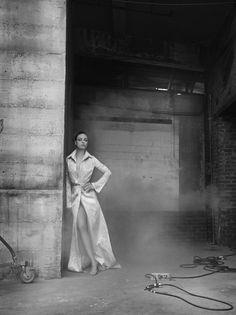 Mila Kunis Ruven Afanador Portrait Black & White