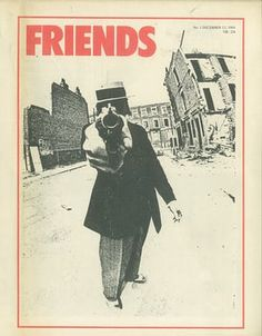 The cover of Friends magazine