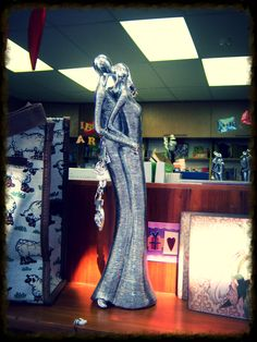 Our lovely new Home Decor Mini Statues of Man and Women Dancing with Fruit of the Spirit Charm @ R245-00.