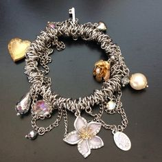 Guess charm bracelet Gorgeous stretch to fit Guess bracelet perfect condition Guess Jewelry Bracelets