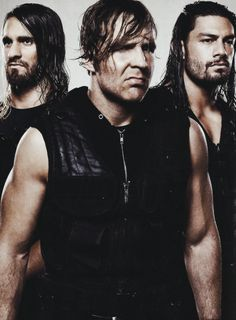 The Shield (Seth Rollins, Dean Ambrose and Roman Reigns) Chris Benoit, Roman Regins, The Shield Wwe, Watch Wrestling, Wwe Tna, Wwe Wallpapers, Dean Ambrose, Seth Rollins, Wwe Wrestlers