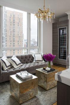Decorating Chicago: The Art Of Modern Glamour. Living Room ModernModern  SofaModern ...
