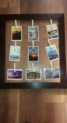 Képkeret, DIY, Balaton Polaroid Film, Diy, Frame, Home Decor, Homemade Home Decor, Bricolage, A Frame, Frames, Hoop
