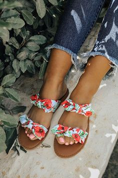 56dbb50676cb The Brinkley Floral Bow Sandal. Shoes WomenGirls ...