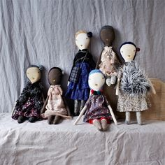 Jess Brown Doll, April - Selvedge
