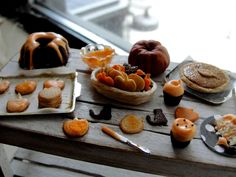 Dollhouse miniature Halloween baking by Kimsminibakery on Etsy