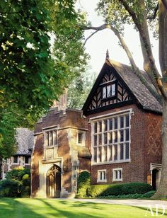 1929 Tudor Revival home by Peter Marino Architect in Greenwich, Connecticut