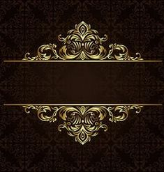 Find Vector Ornate Gold Border stock images in HD and millions of other royalty-free stock photos, illustrations and vectors in the Shutterstock collection. Framed Wallpaper, Flower Background Wallpaper, Flower Backgrounds, Name Card Design, Bussiness Card, Background Design Vector, Luxury Logo, Studio Logo, Foto Art