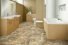 Learn more about Armstrong Taranto Travertine - Falcon Brown and order a sample or find a flooring store near you. Vinyl Tile Flooring, Flooring Store, Luxury Vinyl Flooring, Luxury Vinyl Tile, Armstrong Flooring, Travertine Tile, Flooring Options, Flooring Ideas, Traditional Bathroom