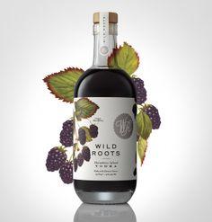 Wild Roots Infused Vodka - woodandpaperco.com Sasquatch Project - sasquatchagency.com