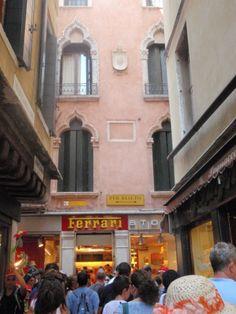 The Ferrari Shop. Venice.