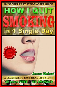 How I Quit Smoking In 1 Single Day: A chain smoker's true real life story (Stop Smoking) Reasons To Quit Smoking, Help Quit Smoking, Giving Up Smoking, Stop Smoking Cigarettes, Quit Smoking Motivation, Smoking Addiction, Cigarette Addiction, Nicotine Addiction, Stop Smoke