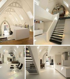 Is it a chapel or is it an apartment?    A Dutch chapel renovated into an apartment by ZECC Architecten.