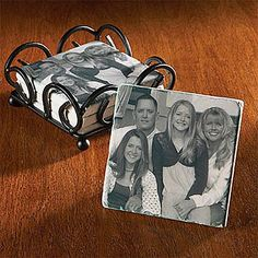 Tile Photo Coasters and other at PersonalCreations.com