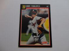 Bobby Thigpen 1991 Score Baseball Cards