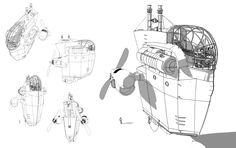 Sketchup 2: Steampunk Airship by SebasP