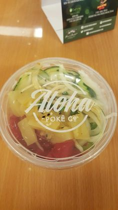 Photo of Aloha Poke - Chicago, IL, United States. The Aloha Bowl Hawaiian Poke, Ahi Poke, Healthy Life, Healthy Eating, Food Design, Design Ideas, Poke Bowl, Restaurant Ideas, Restaurant Design
